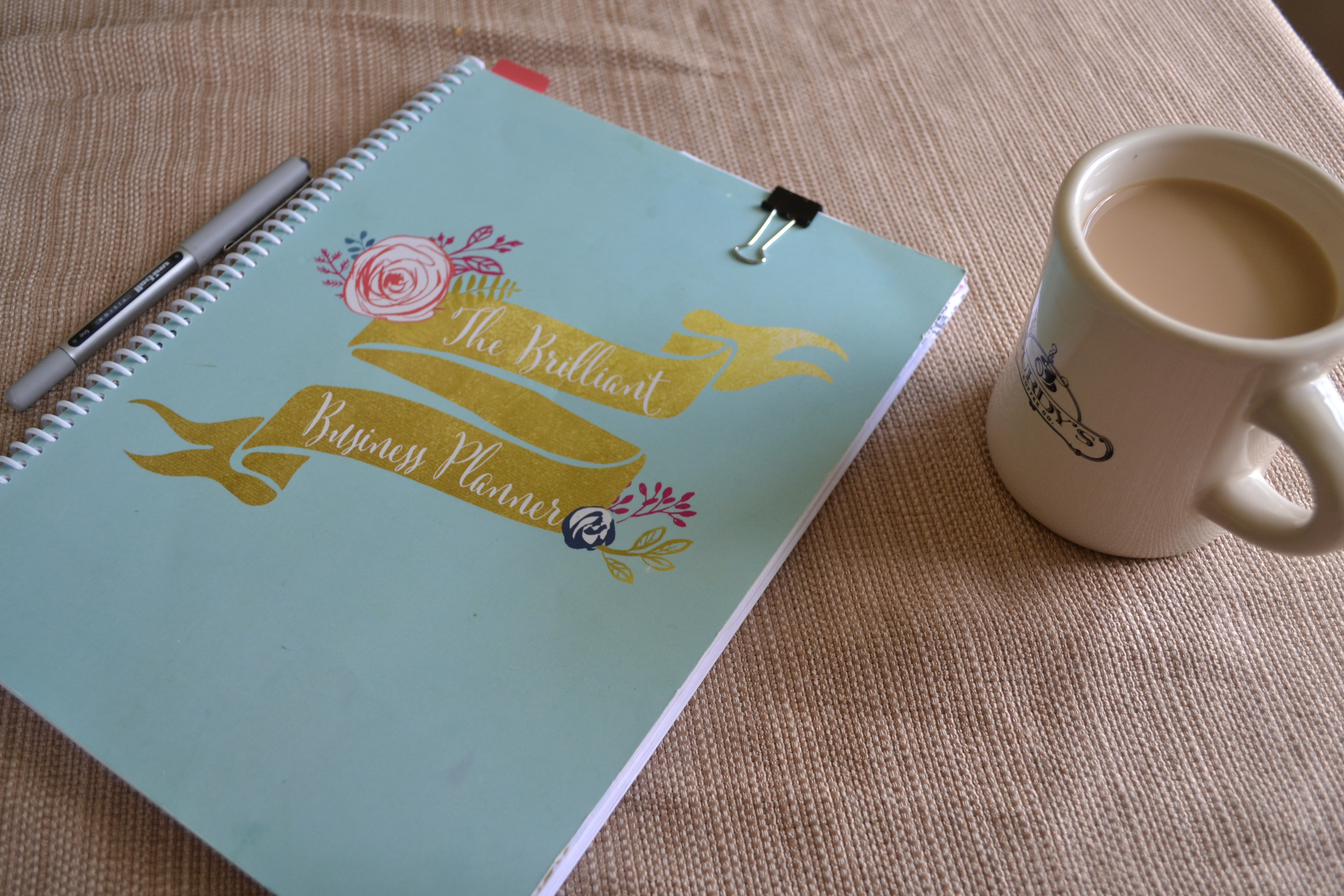 Where I've Been (And What's Helping Me Get Going) / BRILLIANT BUSINESS PLANNER REVIEW