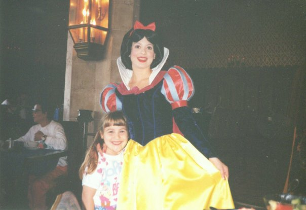 Snow White at Disney World 1995