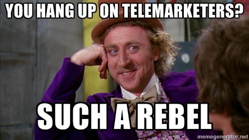 rebel telemarketer meme